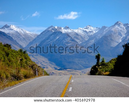Haast Pass Road, NZ