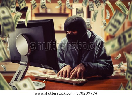 Hacker in the office