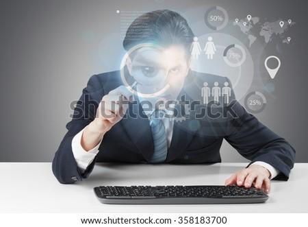 Hacking. - stock photo