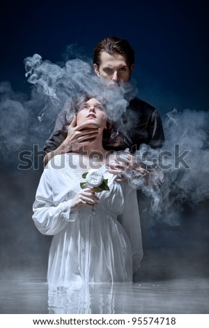 Hades & Persephone: The Seduction - stock photo