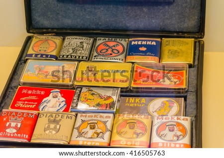 HAGEN, NRW, GERMANY - JULY 24, 2014: