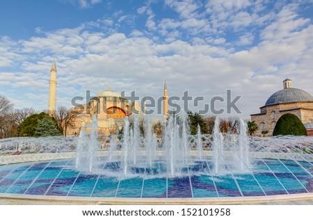 Hagia Sophia, Istanbul, Turkey  - stock photo