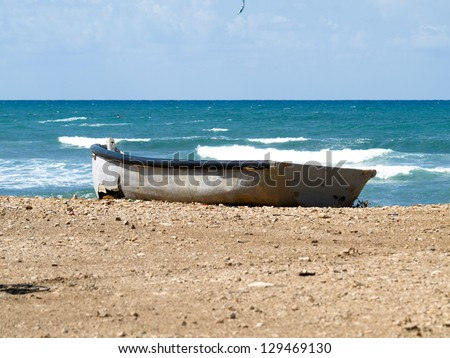 Haifa, Sea Shore, Bat Galim, Boat