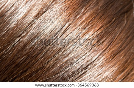 hair as a background. texture - stock photo