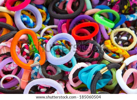 hair clips - stock photo