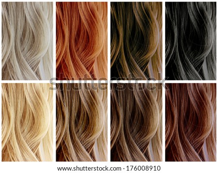 Haar coloration