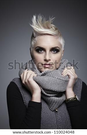 Hair Model - stock photo