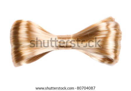 hair-pin  isolated on a white background - stock photo