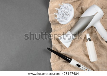 hairspray stock photos, royalty-free images & vectors - shutterstock - Beige Wand