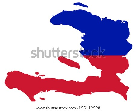 Haiti - Map flag
