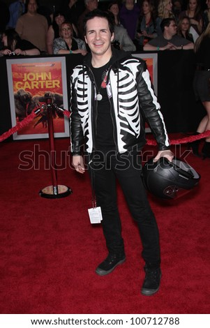 "Hal Sparks at the ""John Carter"" Los Angeles Premiere, Regal Cinemas, Los Angeles, CA 02-22-12 - stock photo"
