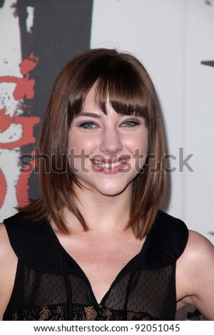 "Haley Ramm at the ""Red Riding Hood"" Premiere, Chinese Theater, Hollywood. CA. 03-07-11"