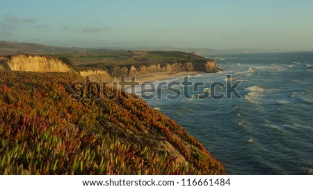 Half Moon Bay, California, USA - stock photo