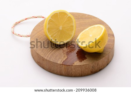 Half of lemon  - stock photo