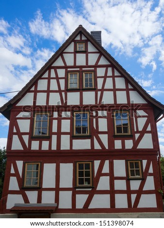 Half-timbered house in Taunus/Germany