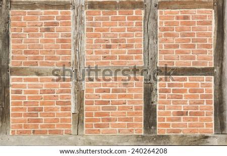 Half timbering - stock photo