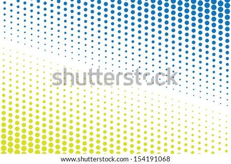 halftone background. (rasterized version) - stock photo