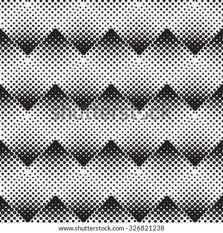 Halftone background seamless pattern - abstract dotted seamless pattern background  - stock photo