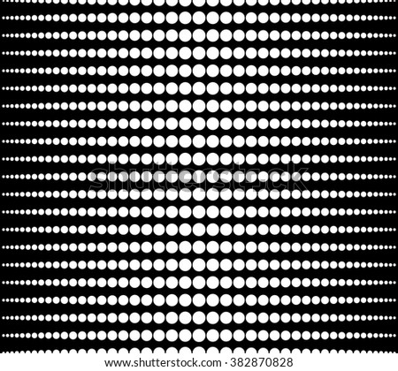 Halftone, gradation abstract monochrome repeatable background, pattern - stock photo