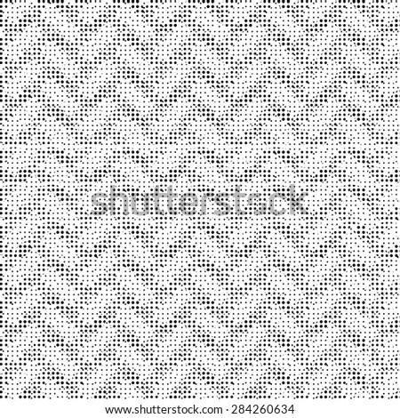 Halftone Isolated on Black Background. Dotted Abstract  Texture. Dirty Damaged Spotted Circles Pattern. - stock photo