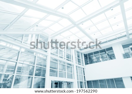 hall of modern building  - stock photo
