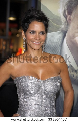 "Halle Berry at the Los Angeles premiere of ""Cloud Atlas"" held at the ArcLight Cinemas, Los Angeles, CA. 24th October 2012."