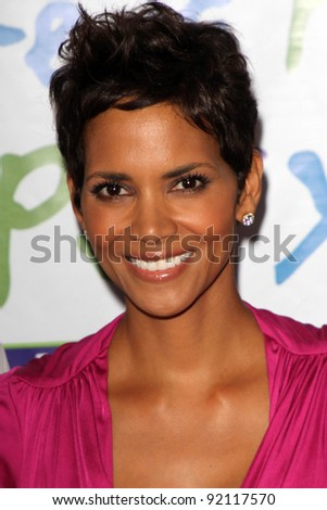 Halle Berry at the Silver Rose Awards Gala, Beverly Hills Hotel, Beverly Hills, CA. 04-17-11 - stock photo