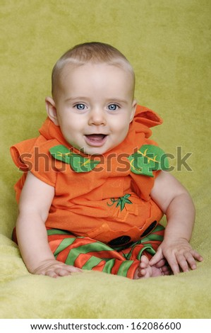 Halloween Baby - stock photo
