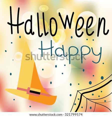 halloween  background - stock photo