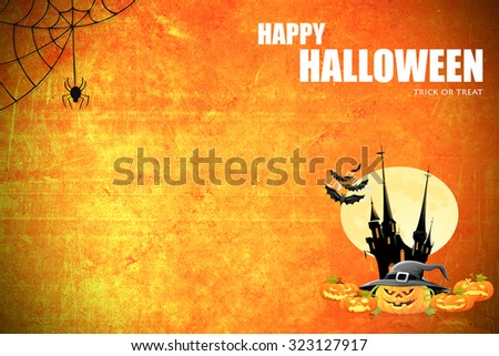 halloween background idea concept design