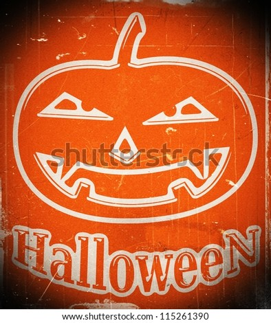 halloween background images for Halloween holiday - stock photo