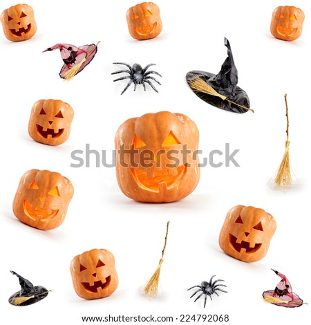 halloween cover - stock photo