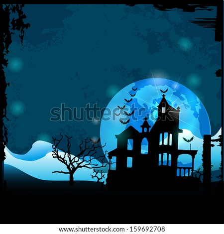 Halloween house party full moon,