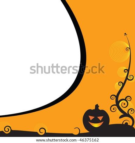 Halloween illustration - stock photo