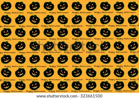 halloween pattern background holiday celebration idea concept design