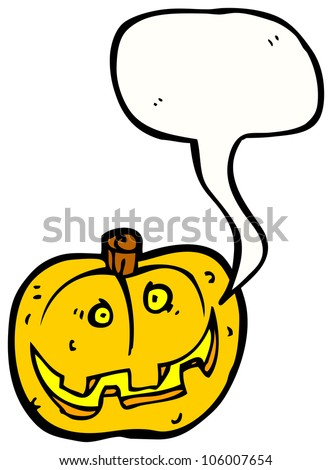 halloween pumpkin cartoon