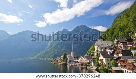 Hallstatt - stock photo