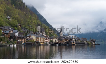 Hallstatt, city of UNESCO wold heritage
