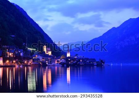 Hallstatt Village, Austria - stock photo