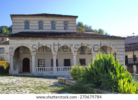 Halveti Teqe, Berat, Albania - stock photo