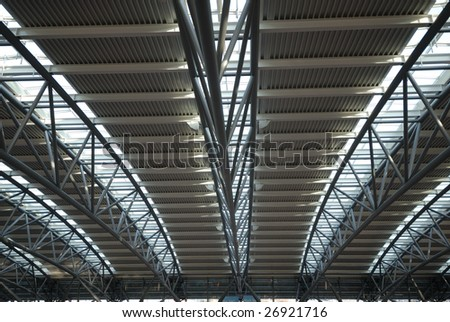 Hamburg Airport Roof