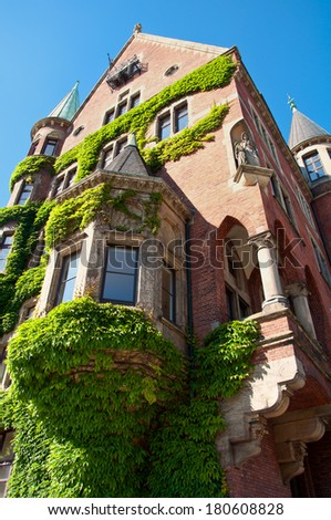 Hamburg, Germany, Historical Warehouse District - stock photo