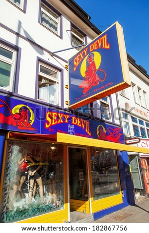 Sex shop in germany