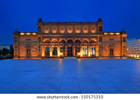 Hamburg, Germany, Museum of Art - stock photo