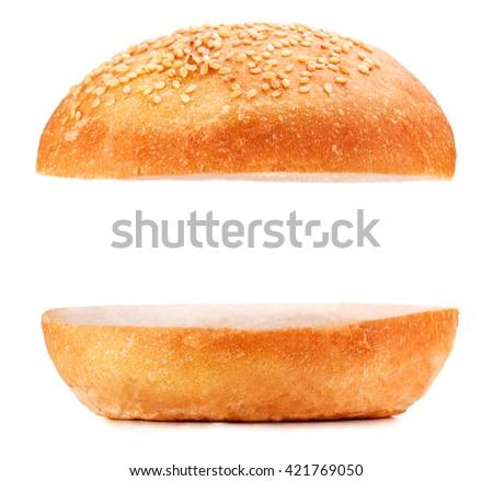 hamburger bun clipart � cliparts