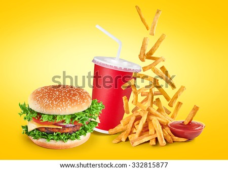 Hamburger And Fries Stock Images, Royalty-Free Images ...