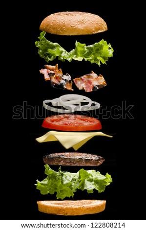 Hamburguesa - stock photo