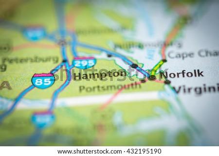 Hampton. Virginia. USA - stock photo