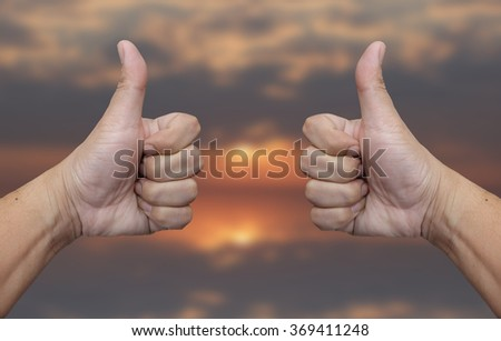 Hand and finger variations - stock photo