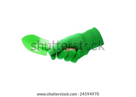 hand and trowel